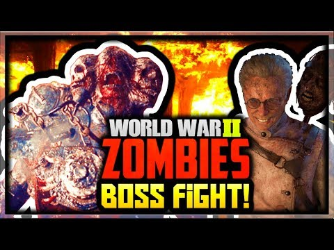 cod ww2 zombie easter eggs
