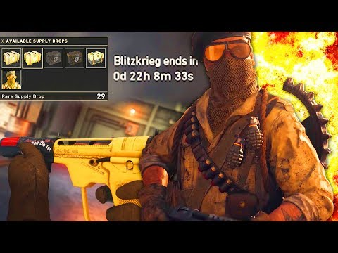 The LAST DAY of the COD WW2 Blitzkrieg Event // Completing