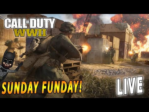Sunday Funday Gaming Session | LIVE Call of Duty: WW2 | PS4