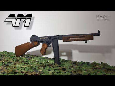 CYBERGUN WE THOMPSON M1A1 GBB / Airsoft Unboxing / Review
