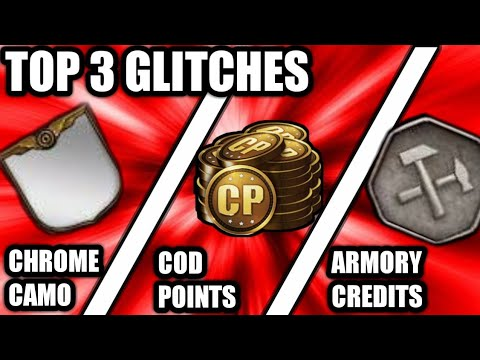 Call of duty ww2! Top 3 glitches! Unlimited cod points glitches