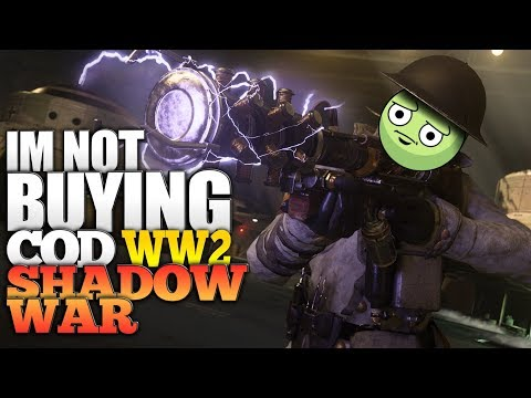 I'm Not Buying Call of Duty: WWII Shadow War Map Pack 4 DLC - Modern Call Of Duty Map Pack on