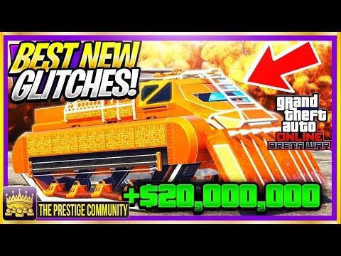 GTA 5 TOP GLITCHES 1 46! *FREE* $20,000,000 SOLO Money